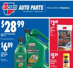 Automotive Supplies Flyer